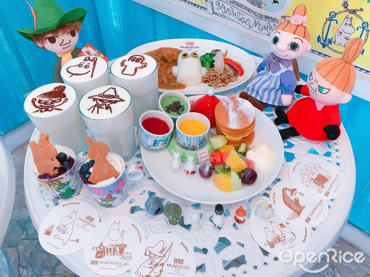 ▲Moomin Café嚕嚕米主題餐廳帶來充滿愛、自由、熱愛生命「嚕嚕米生活法則...