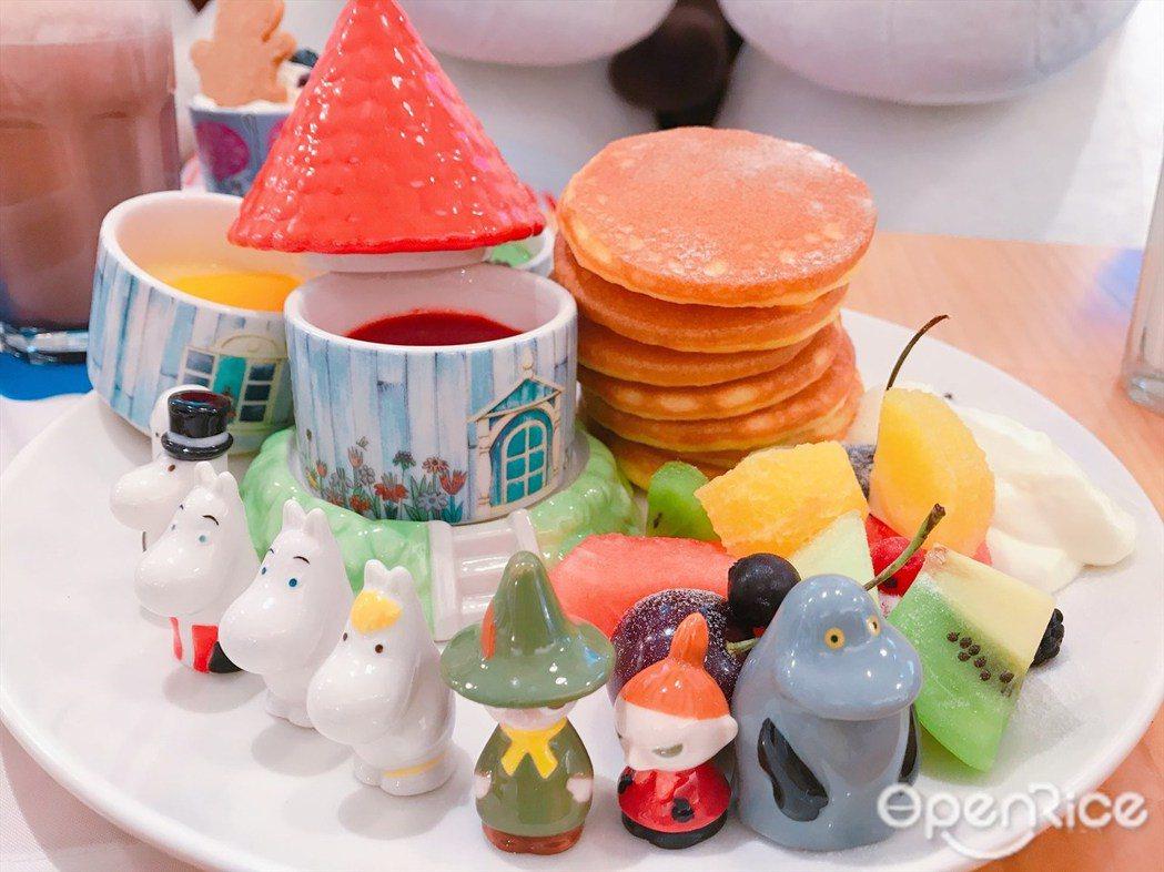 ▲點鬆餅即可獲得Moomin Family 陶瓷公仔一個