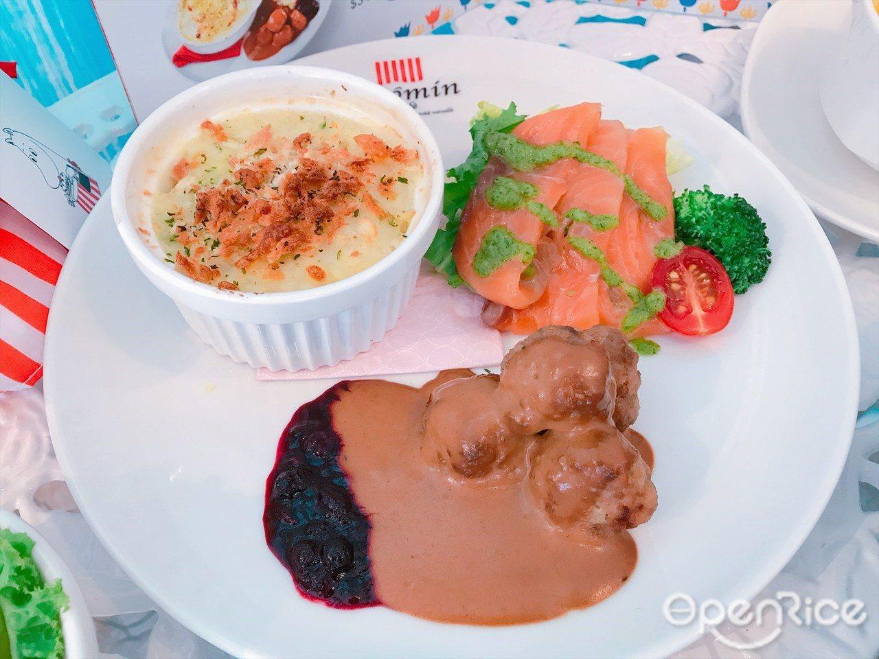 ▲北歐套餐($340)