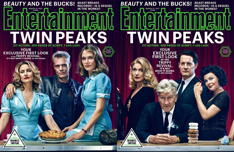 「雙峰」最新一季成為娛樂界矚目話題,雪琳芬(右一)也再度回歸。圖/摘自EW