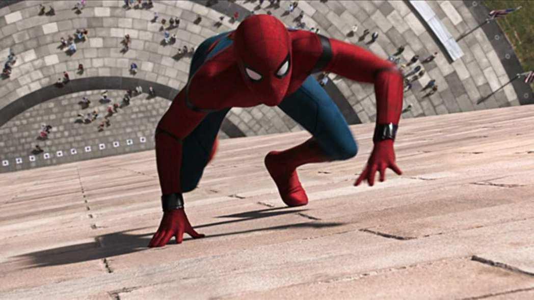蜘蛛人:返校日。圖/索尼提供