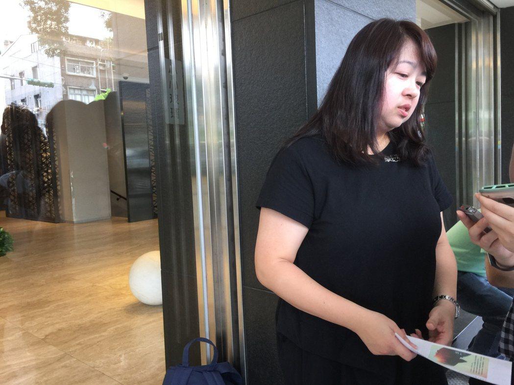 「看見台灣」製片曾瓊瑤宣布「齊柏林紀念音樂會」細節。記者蘇詠智/攝影
