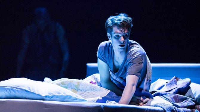 安德魯加菲最近參加「美國天使」舞台劇演出,挑戰同性戀者的角色。圖/HELEN M...