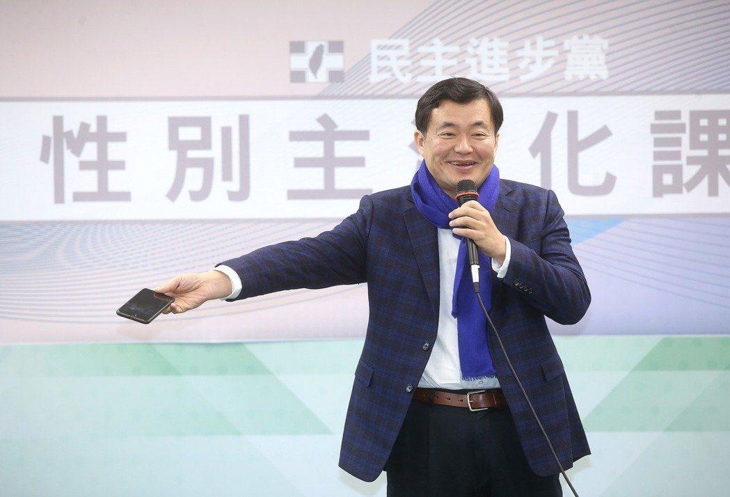 民進黨秘書長洪耀福。 聯合報系資料照