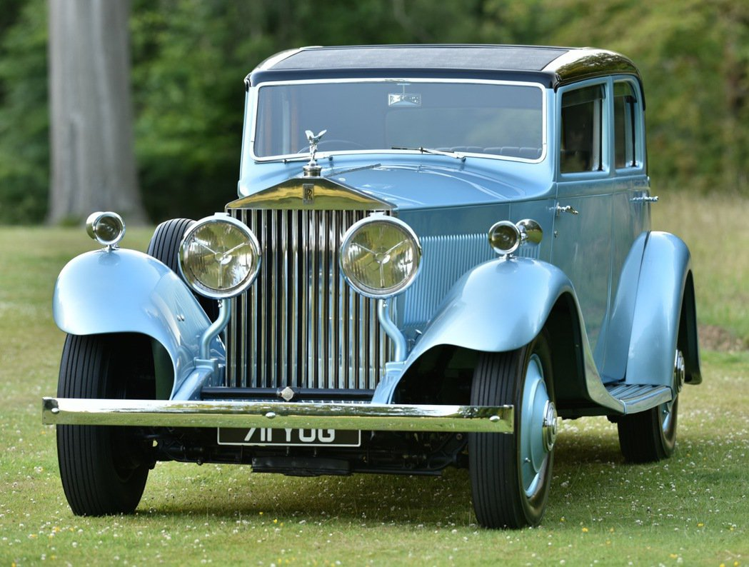 Malcolm Campbell爵士的PHANTOM II Continental。圖/Rolls-Royce提供