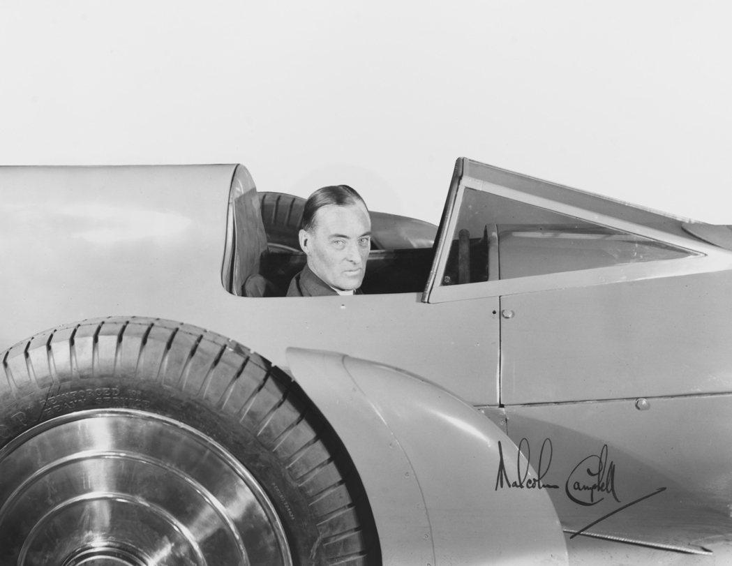 Malcolm Campbell爵士。圖/Rolls-Royce提供