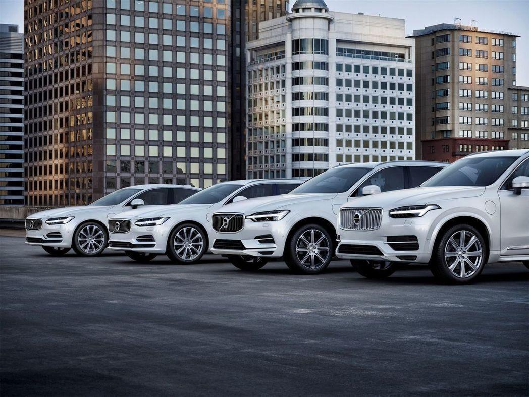 Volvo計劃於2019年全面電動化。 摘自Volvo