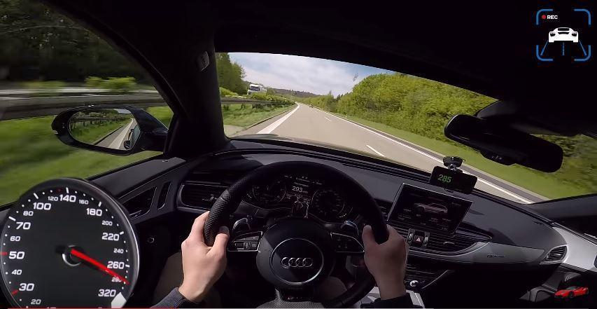 插表啦!時速 280km/hr 的視角真是驚人。 截自 Youtube