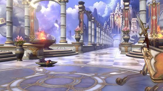 希臘主題大廳。