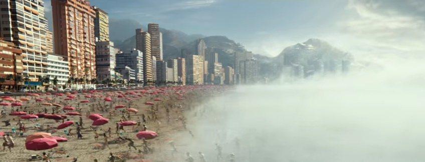 「氣象戰」將帶來驚人的災難毀滅場景。圖/翻攝自Youtube