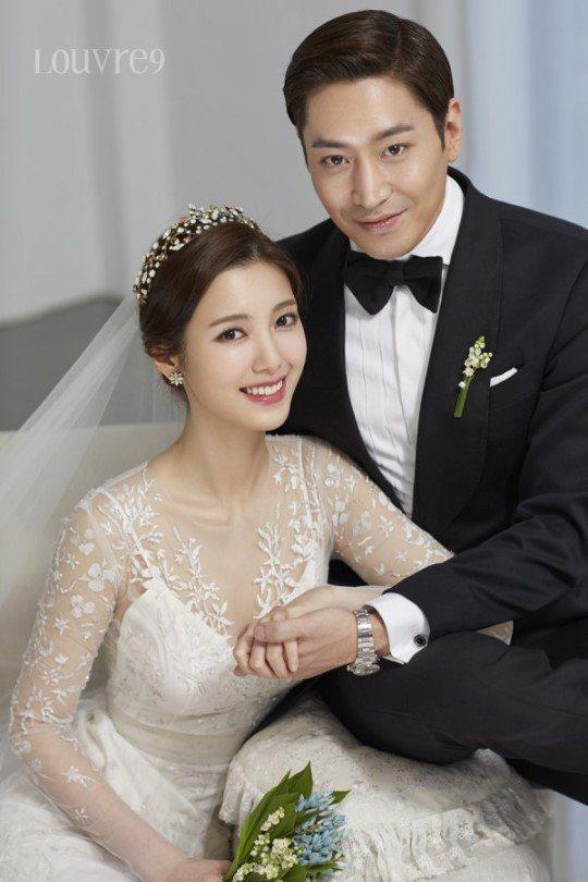 Eric和羅惠美1日結婚。圖/摘自sports東亞