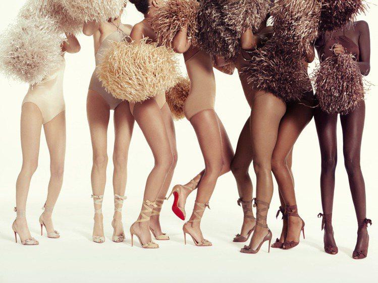 Christian Louboutin的Nudes系列有7種不同深淺的裸色鞋履。...