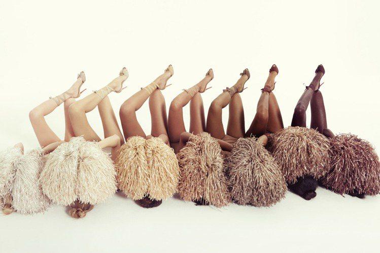 在Christian Louboutin的哲學中,裸色並非顏色,而是一個概念。圖...