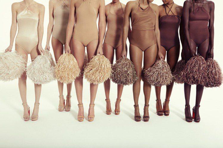 Christian Louboutin的Nudes系列推出全新形象廣告。圖/Ch...