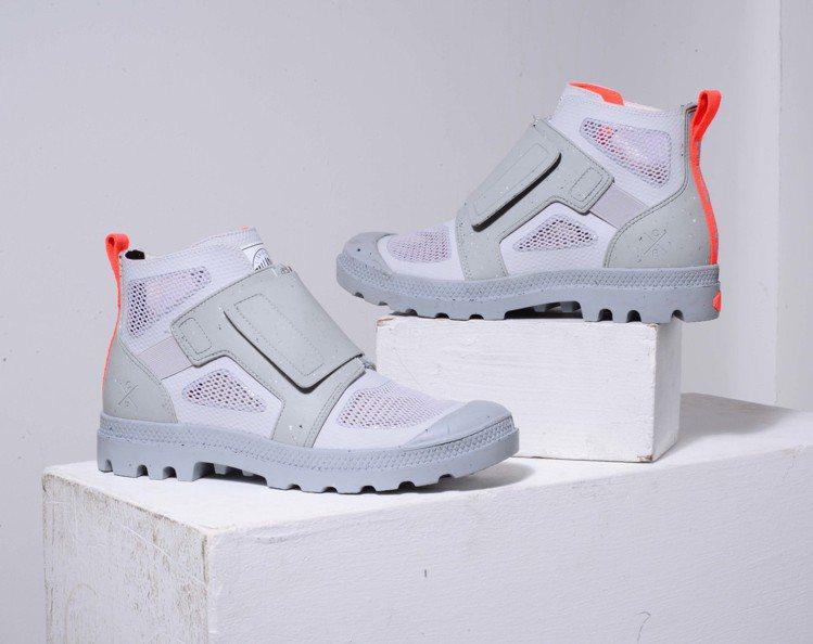 法國軍靴品牌Palladium為設計師Christopher Raeburn特製...