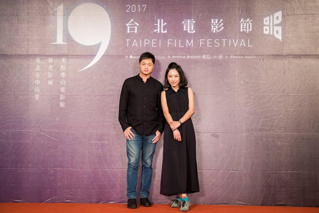 「他們在畢業的前一天爆炸2」導演鄭有傑(左)與音樂統籌法蘭。圖/台北電影節提供