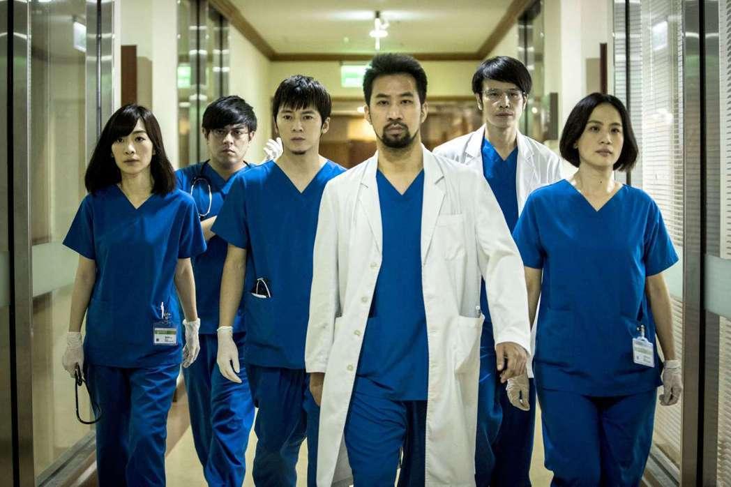 「麻醉風暴2」由黃健瑋、李國毅、許瑋甯、吳慷仁、孟耿如主演。圖/公視提供