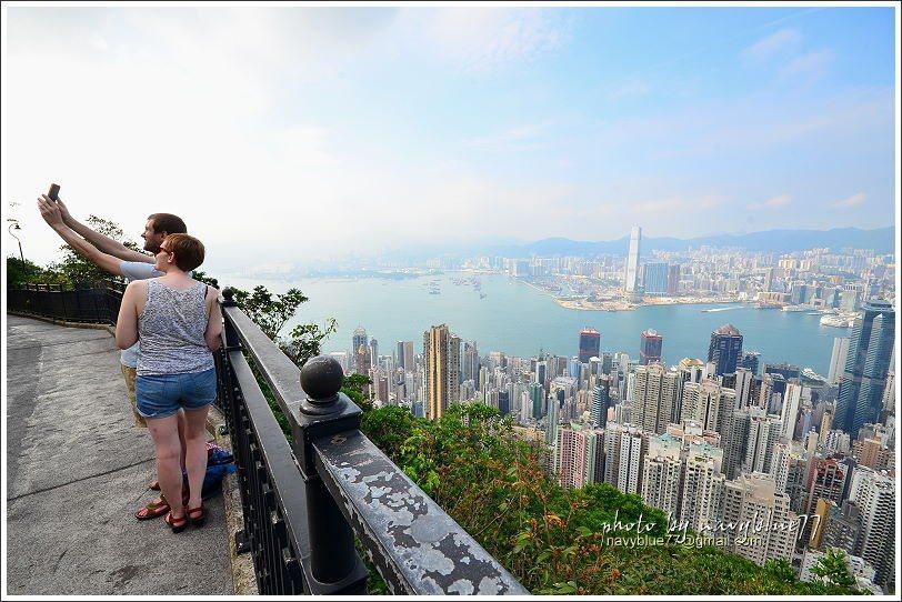 ↑觀景台前後有2處,相距約50公尺,視野都一極棒,布魯個人認為比凌霄閣頂樓更讚。