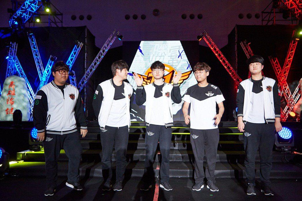 2017《英雄聯盟》亞洲對抗賽預賽結束,以世界冠軍 SKT 為首的 LCK 賽區...