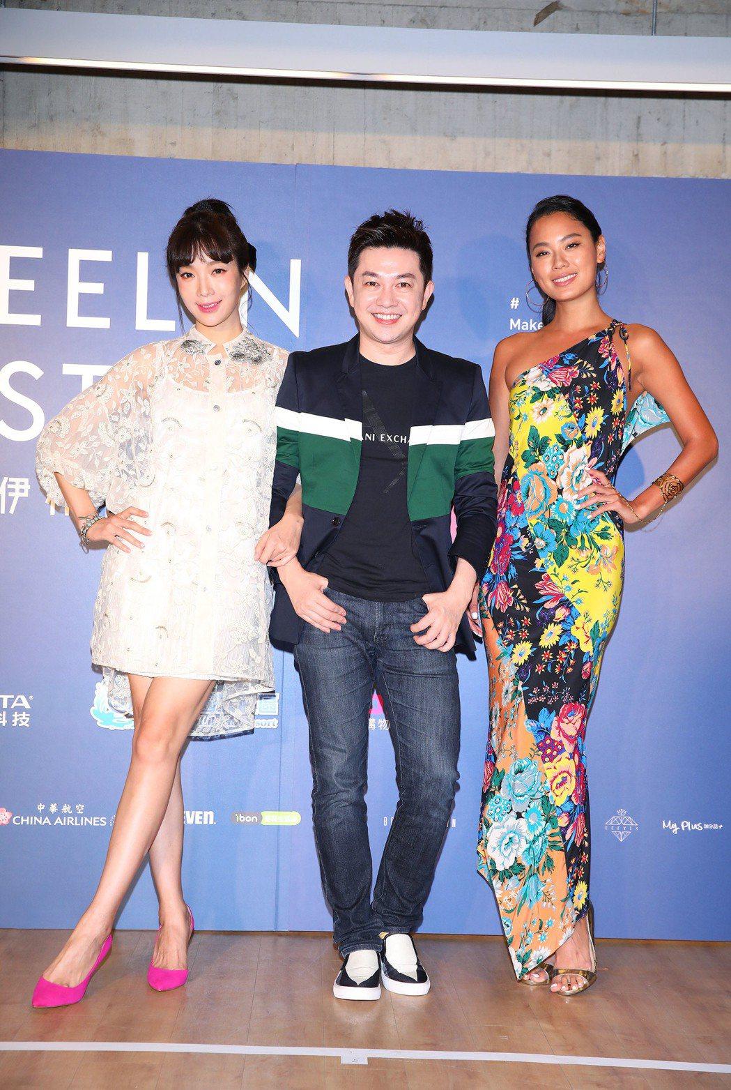 蔡淑臻(左起)、李明川、王麗雅擔任璀璨之星評審。圖/伊林提供