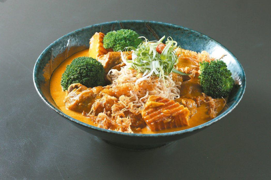 泰北黃咖哩雞腿媽媽麵