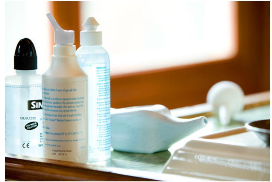 洗鼻器。 圖/陳亮宇醫師提供