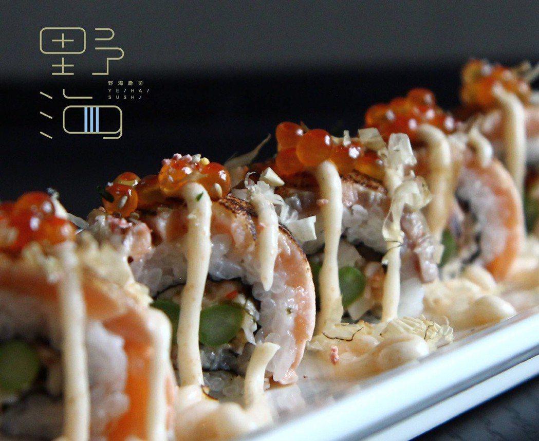 芙洛麗大推「海味料理」,選擇海鮮等天然食材,全新開幕的「野海壽司」讓民眾吃到不同...