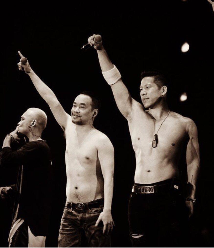 L.A.Boyz表弟林智文(右)宣布訂婚了。圖/摘自IG