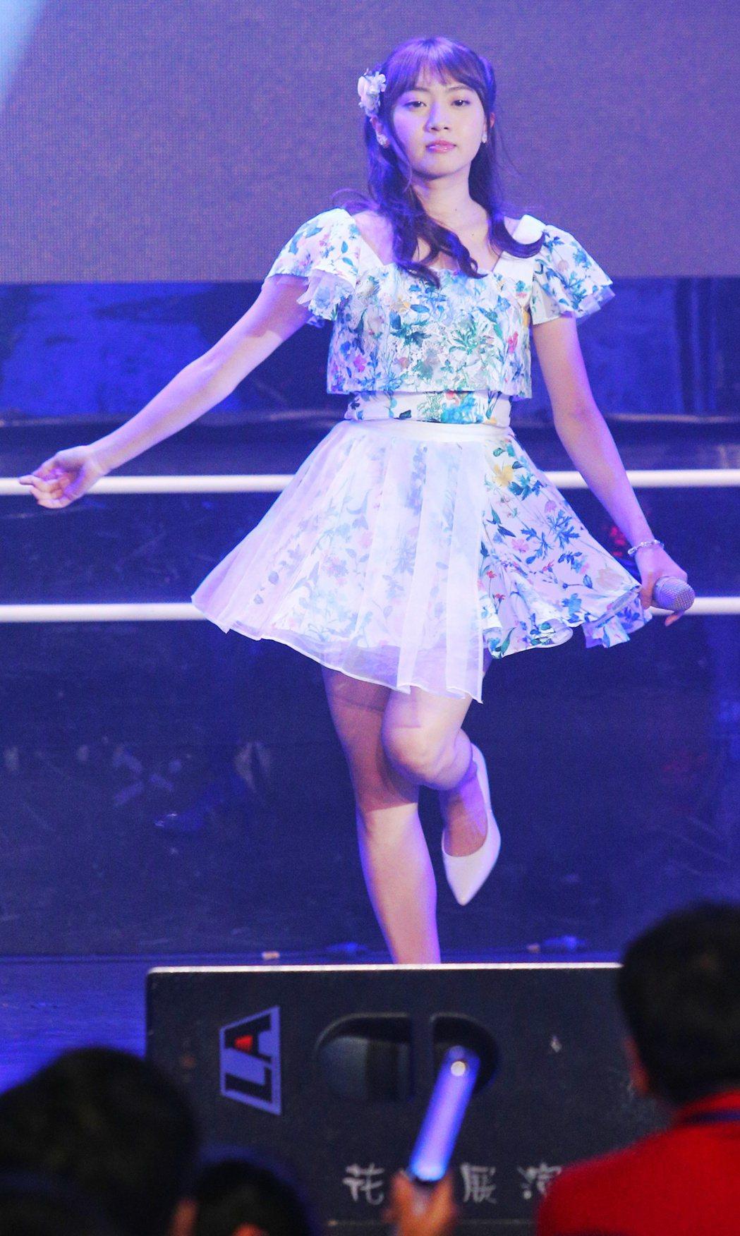 AKB48木崎Yuria。記者陳正興/攝影