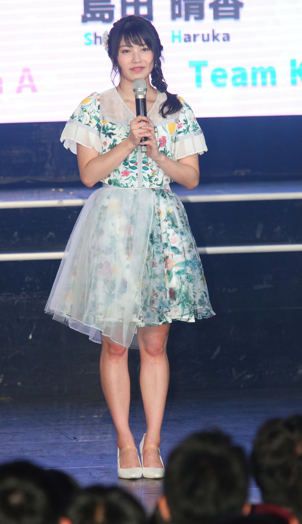 AKB48橫山由依。記者陳正興/攝影