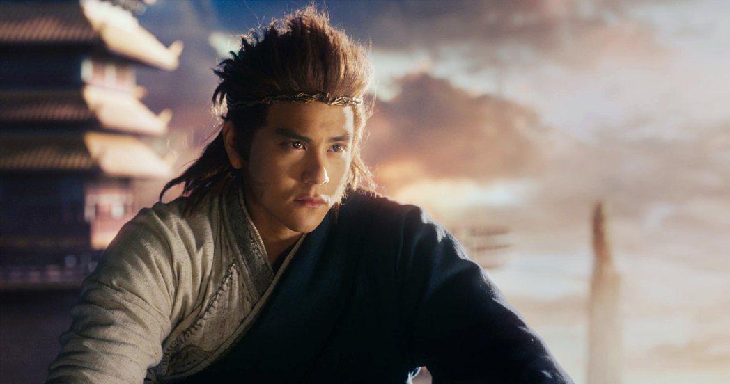 彭于晏在「悟空傳」中飾演孫悟空。圖/海樂提供