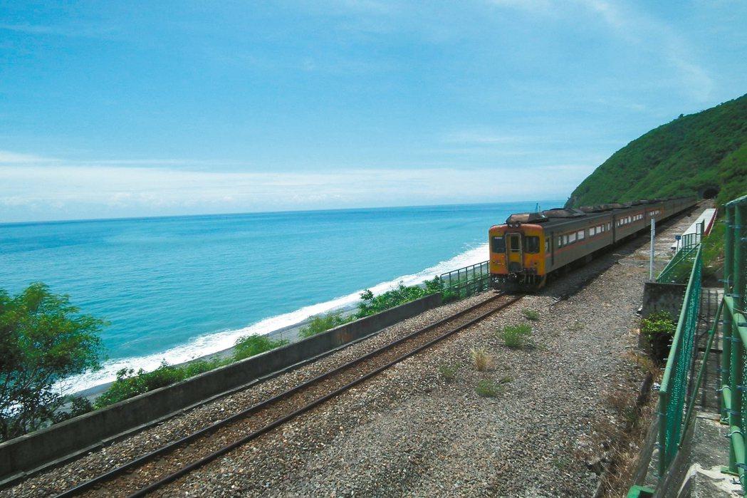 南迴鐵路電氣化。 圖/聯合報系資料照