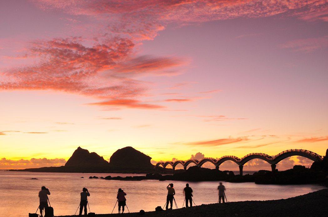 台灣本島第一道曙光,將會於三仙台升起。圖/交通部觀光局提供