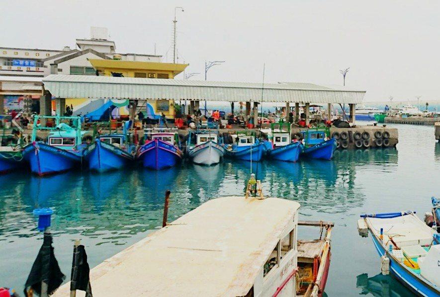 台東富岡漁港。記者羅紹平/攝影