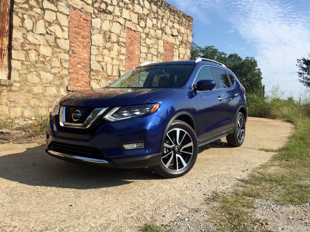 Nissan Rogue在北美今年上半年已賣出195,689台。圖為Nissan...