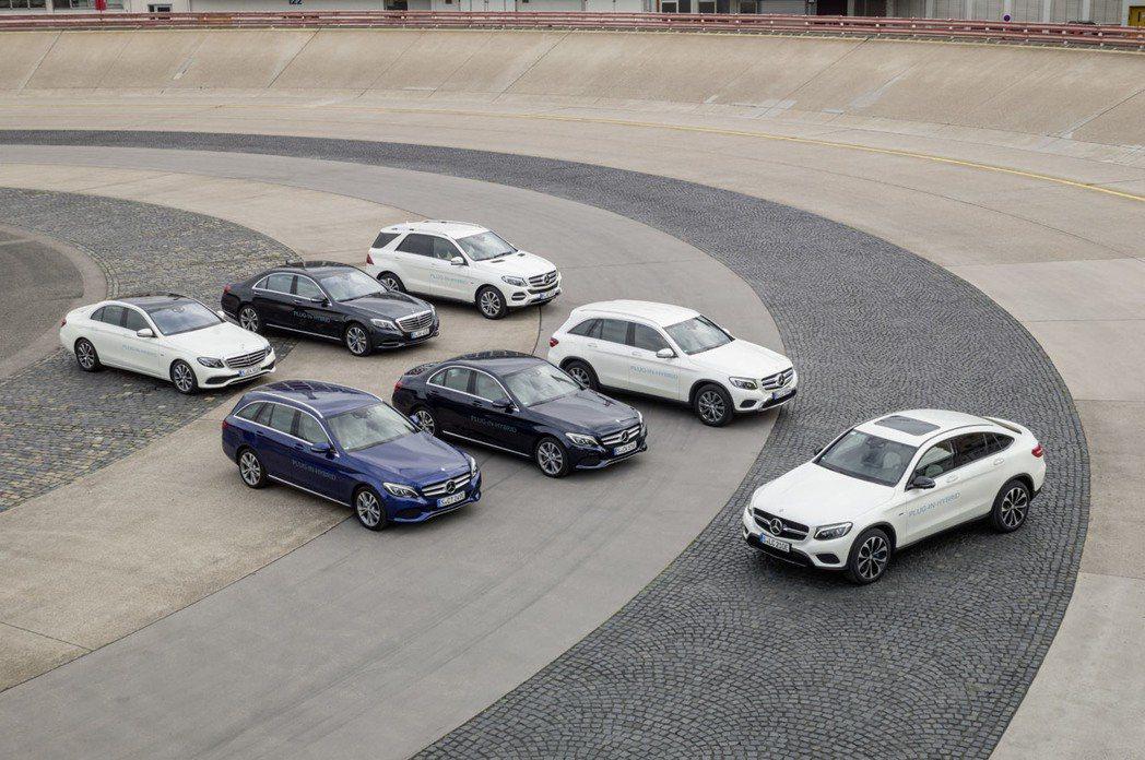 在2017年上半年,Mercedes-Benz的成長率為13.7%。 摘自Mer...