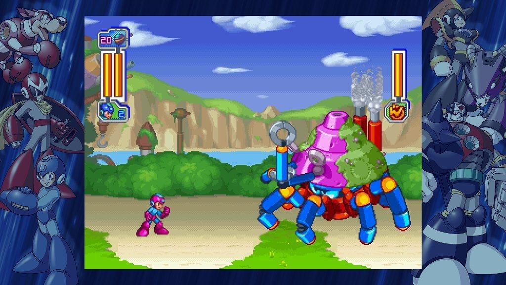 《Mega Man》8代