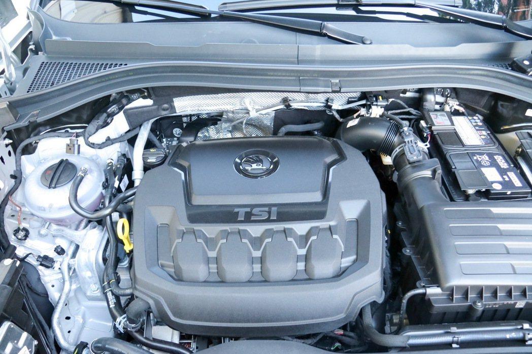 2.0 TSI引擎。 記者史榮恩/攝影