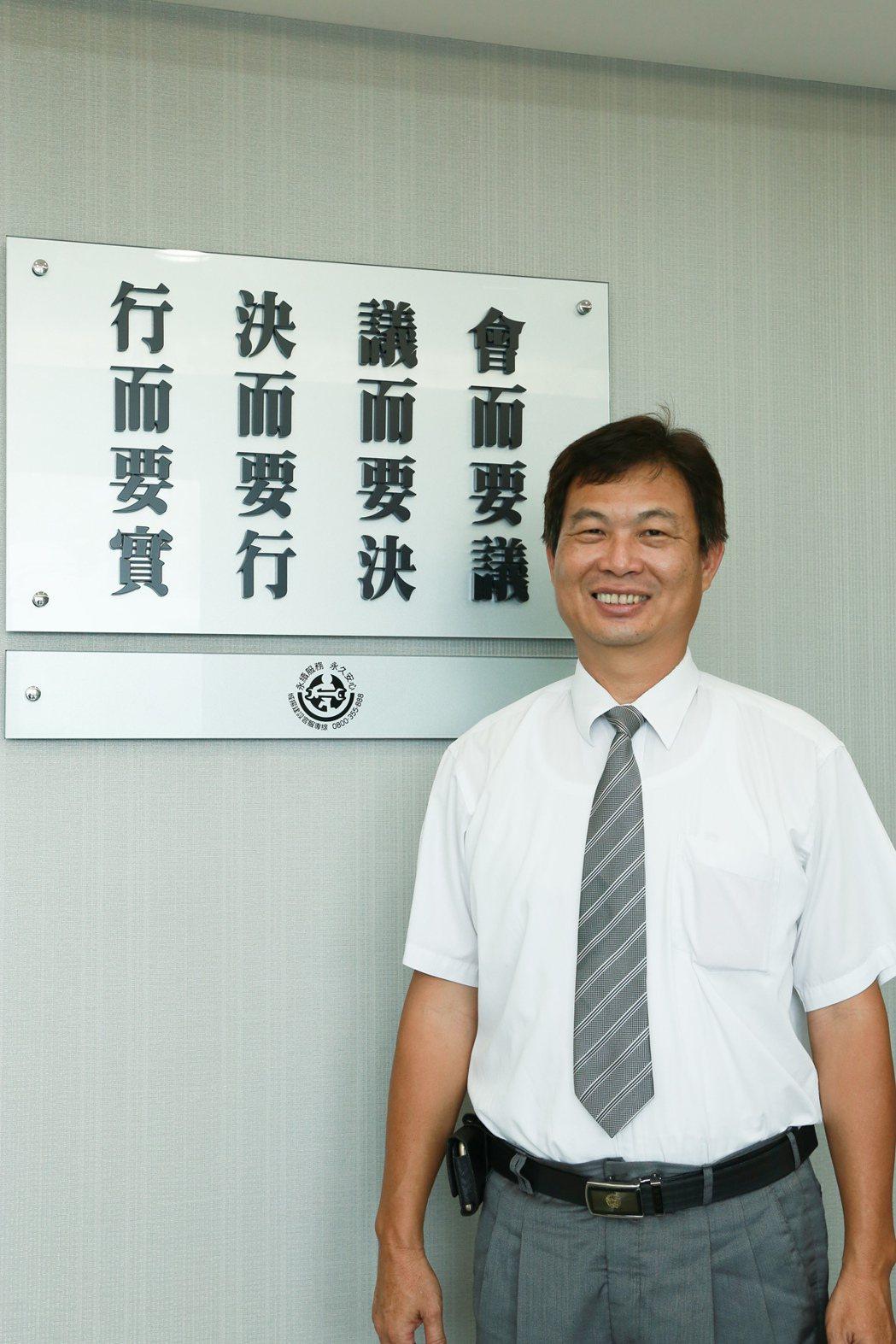 城揚售服部經理陳建宏是公認的Mr. Right。 攝影/張世雅