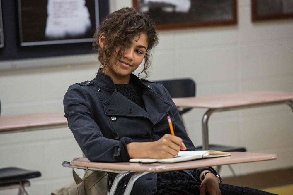 辛蒂亞主演的蜜雪兒在「蜘蛛人:返校日」戲分吃重。圖/索尼提供