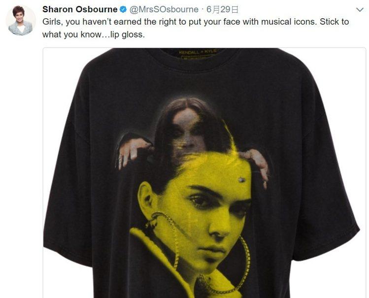 Ozzy Osbourne的妻子在Twitter上指責坎達爾珍娜和凱莉珍娜侵權的...