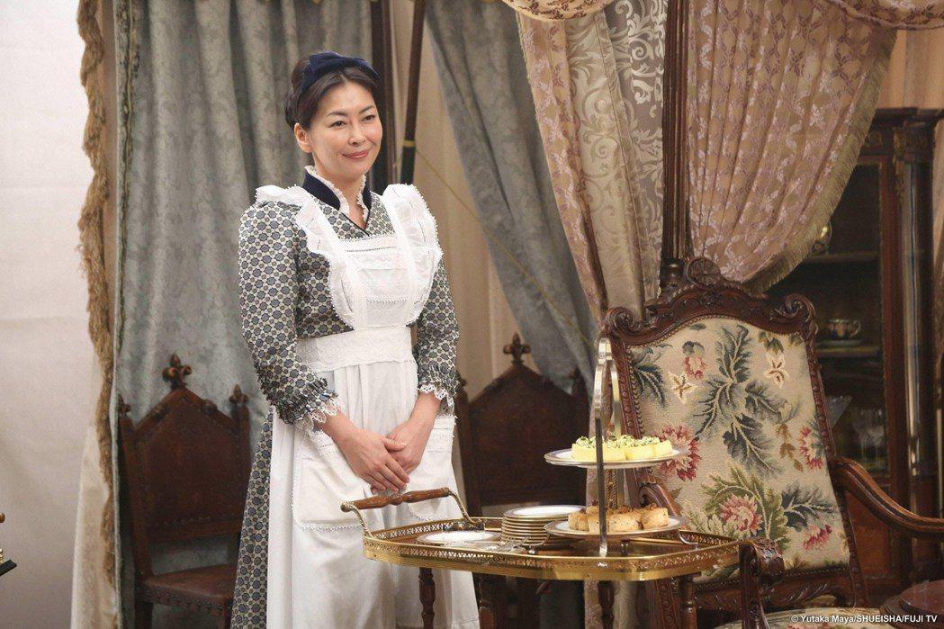 中山美穗飾演相葉雅紀的女僕。圖/緯來日本台提供
