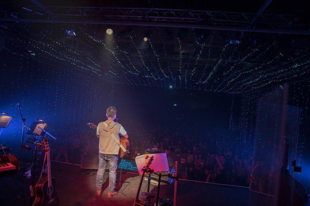 舒米恩挑戰連三天開唱。圖/舒米恩音樂工作室提供