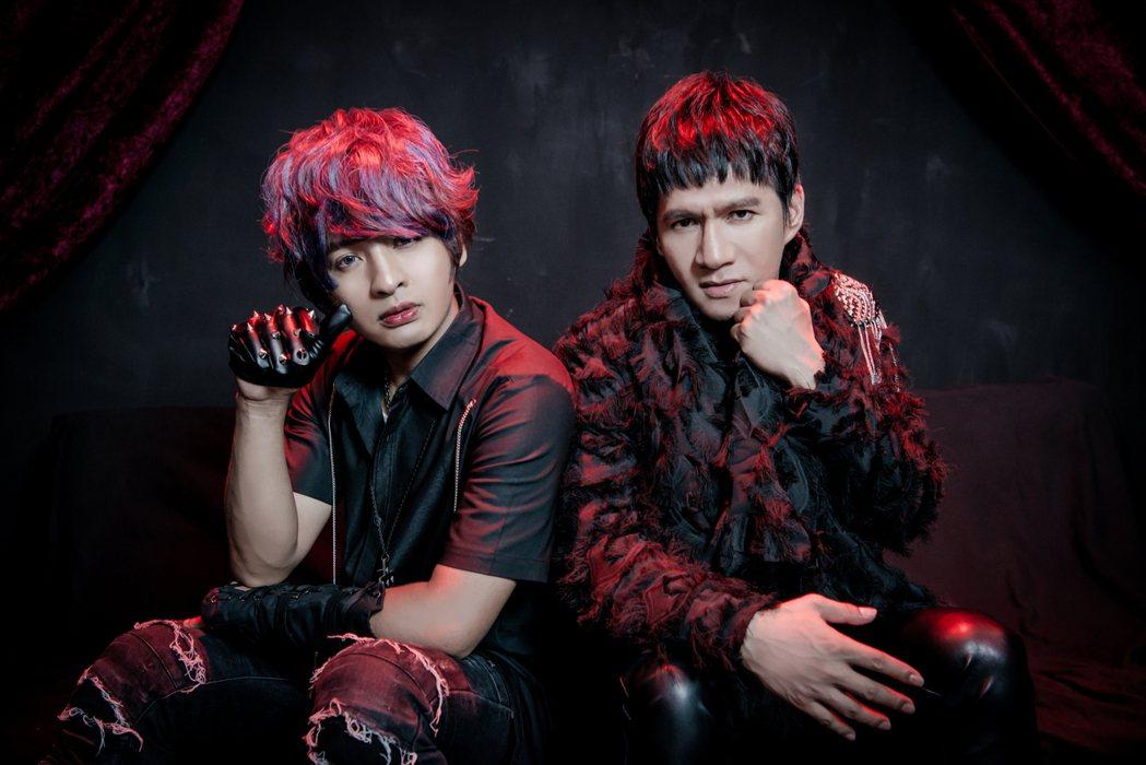 哈克小宇(左)獲王宏恩跨刀。圖/馬可傑娛樂提供