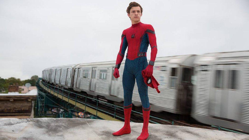 新任「蜘蛛人」湯姆霍蘭德。圖/索尼提供