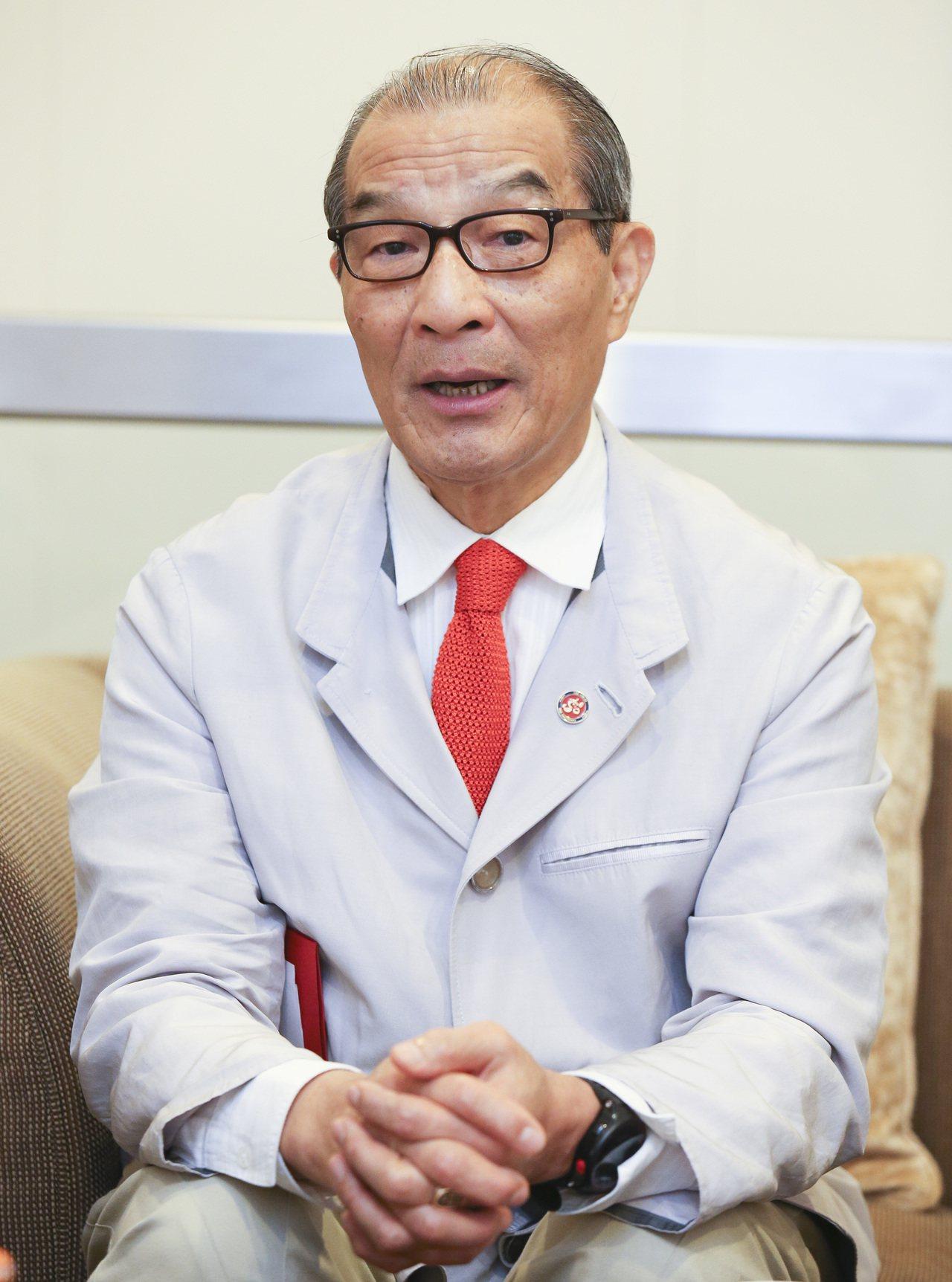 理律法律事務所所長暨執行合夥人陳長文。記者楊萬雲/攝影