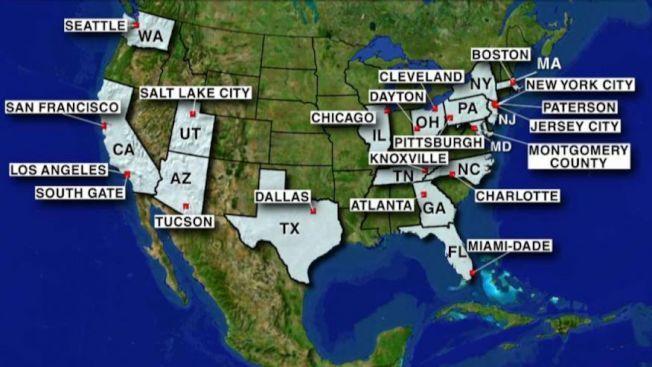 21個庇護城市與庇護郡,發起百萬非法移民入籍的運動。(福斯新聞)