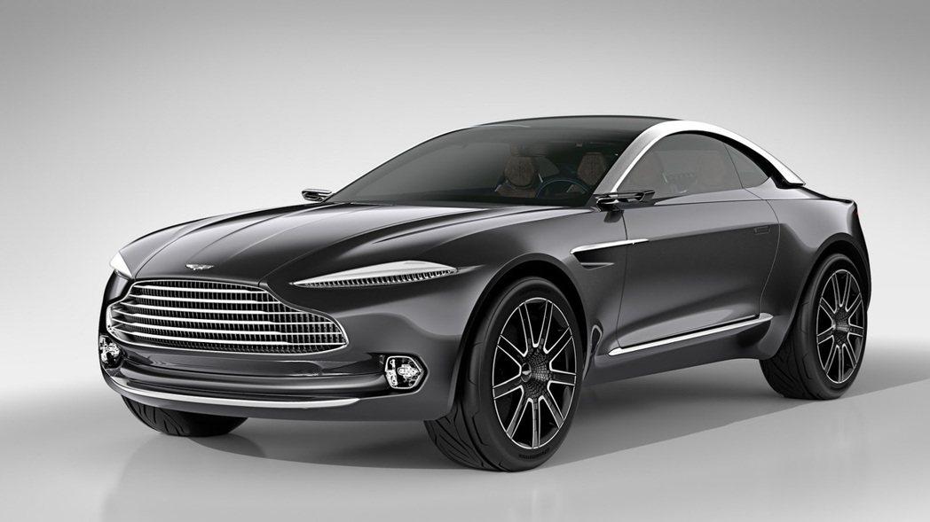 圖為Aston Martin DBX Concept。 摘自Aston Mart...