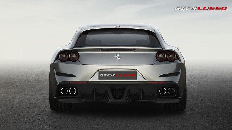 圖為Ferrari GTC4Lusso。 摘自Ferrari