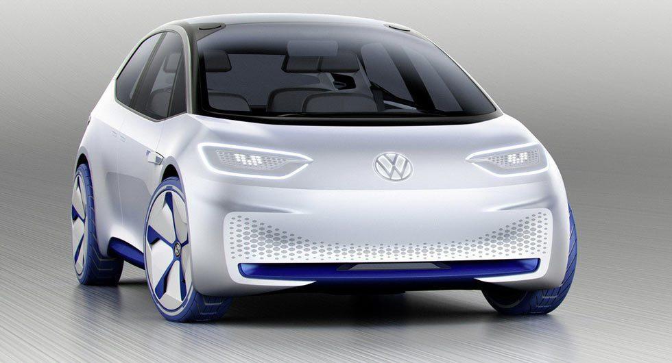 圖為Volkswagen I.D. Concept。 摘自Volkswagen